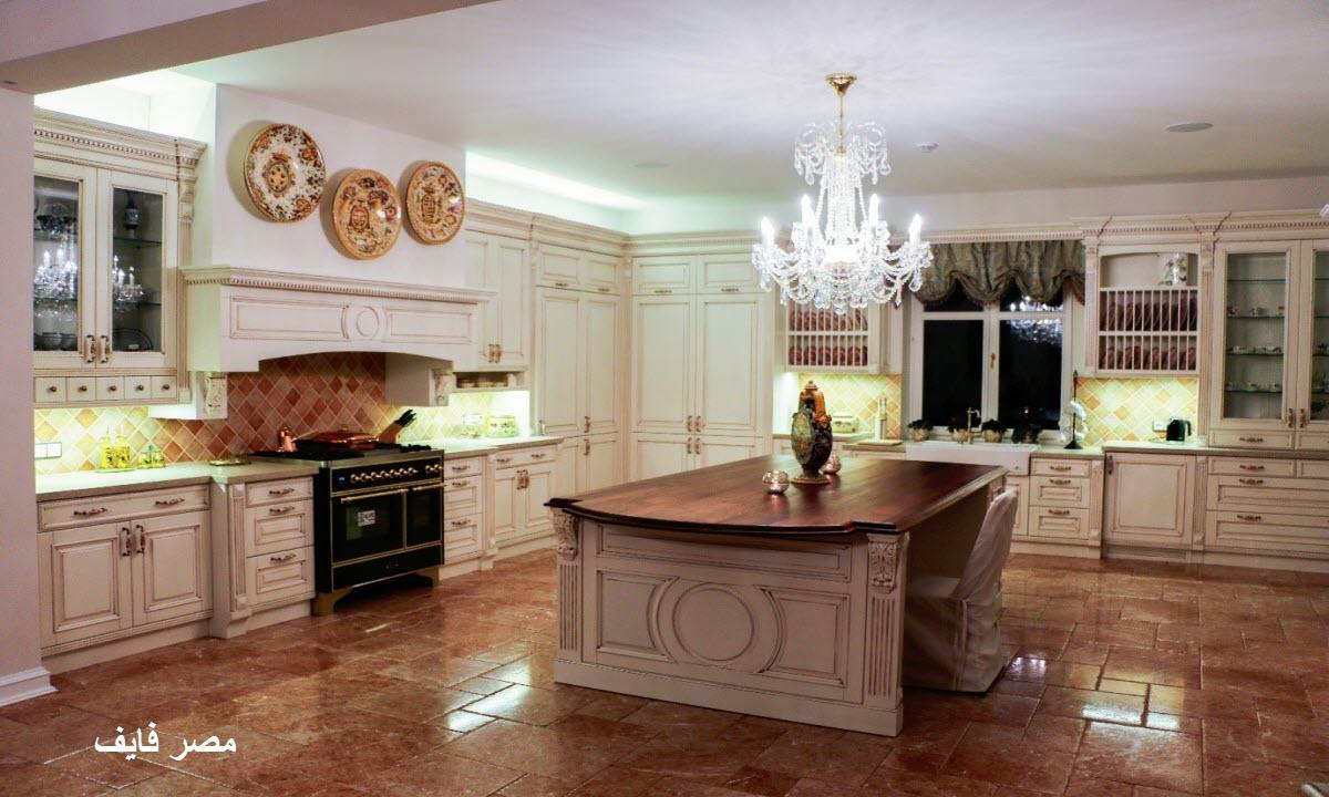 ديكور مطبخ أمريكي