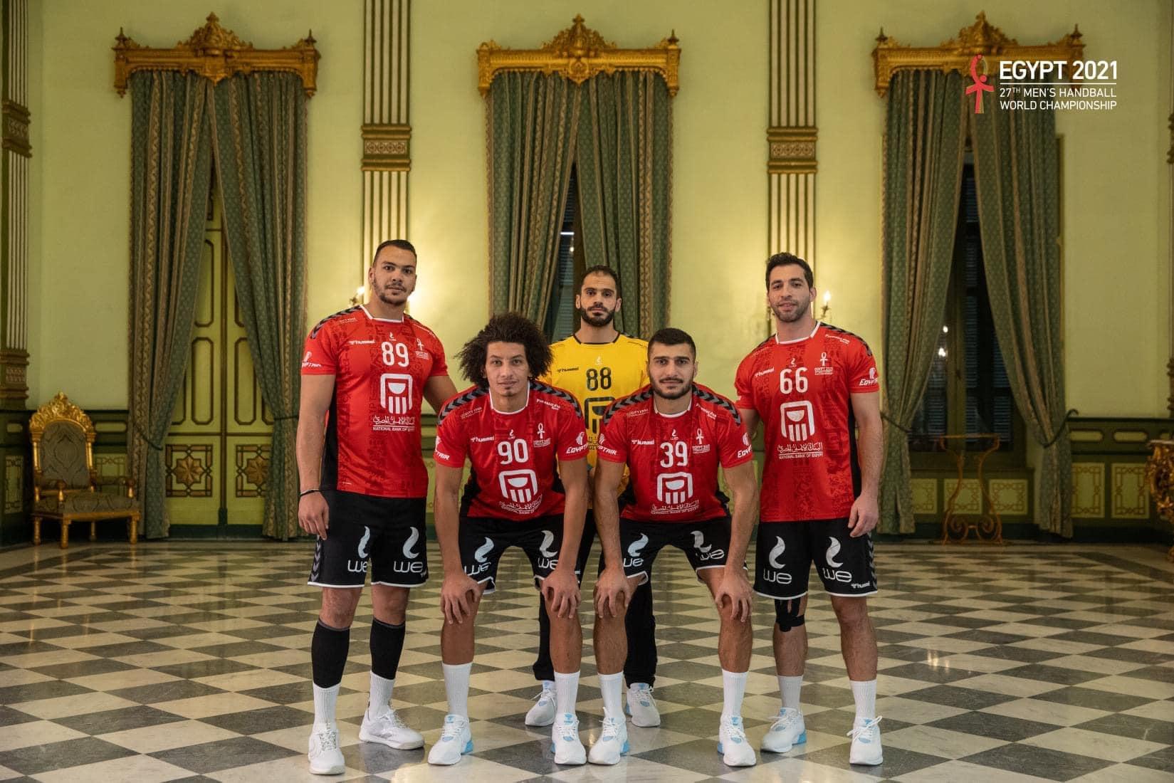 منتخب مصر لكرة اليد يصعد الي الدور الثاني بكأس العالم ب 38 هدف
