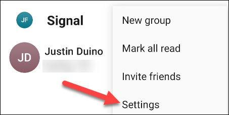 كيفية عمل تطبيق Signal الافتراضي للرسائل النصية على هواتف أندرويد 2