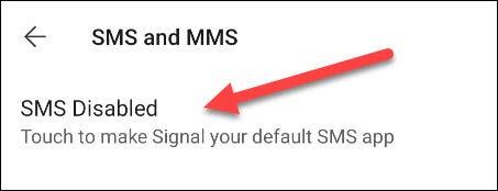 كيفية عمل تطبيق Signal الافتراضي للرسائل النصية على هواتف أندرويد 4