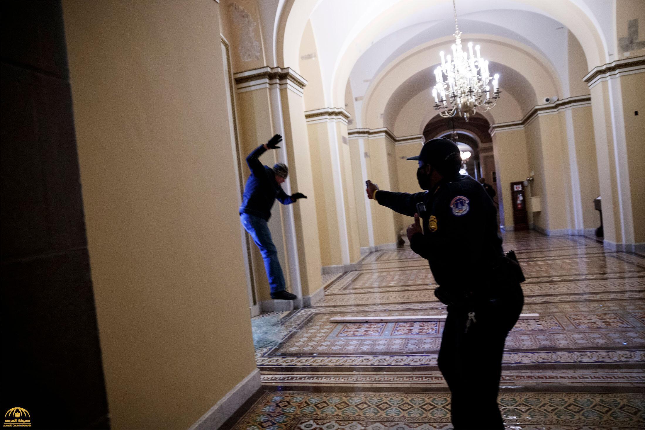 اقتحام مبنى الكونجرس واشتباكات بين أنصار ترامب والأمن وفرض حظر التجوال في واشنطن 4