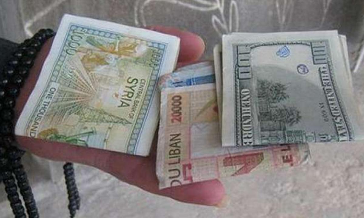 سعر الدولار في سوريا بالسوق السوداء والبنوك اليوم الخميس 14-1-2021