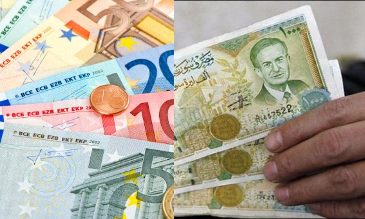 سعر صرف اليورو مقابل الليرة السورية اليوم الأحد 24 يناير 2021 بالبنوك والسوق السوداء