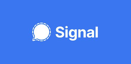 """تطبيق سيجنال """"Signal"""""""