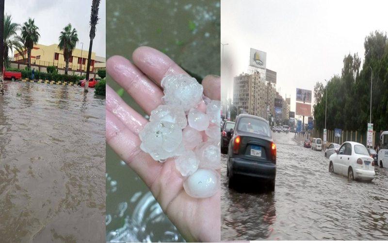 أمطار ورعد وبرق ببعض المحافظات الآن والأرصاد تنصح بعدم فتح النوافذ وتقدم 5 نصائح للمصريين