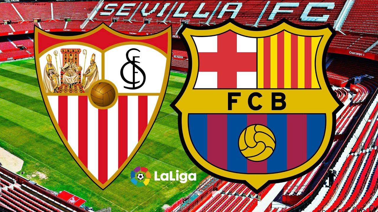 القنوات الناقلة وموعد مباراة برشلونة ضد اشبيلية في كأس الملك