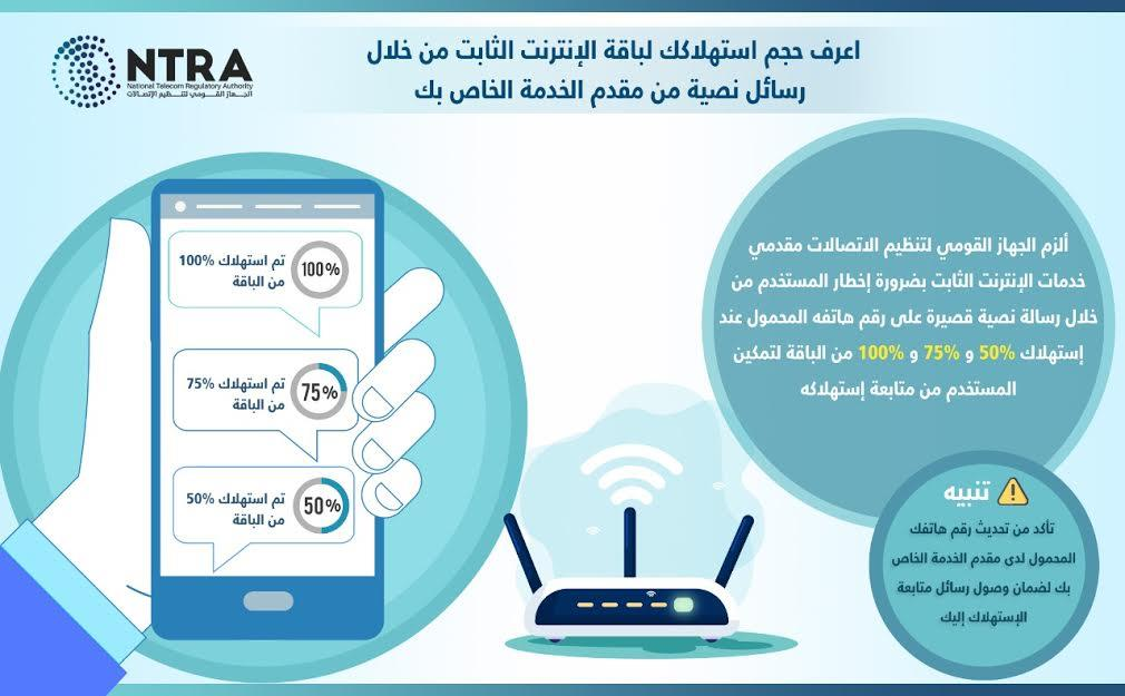 قرار هام بشأن جميع مشتركي الإنترنت الأرضي على مستوى الجمهورية 4