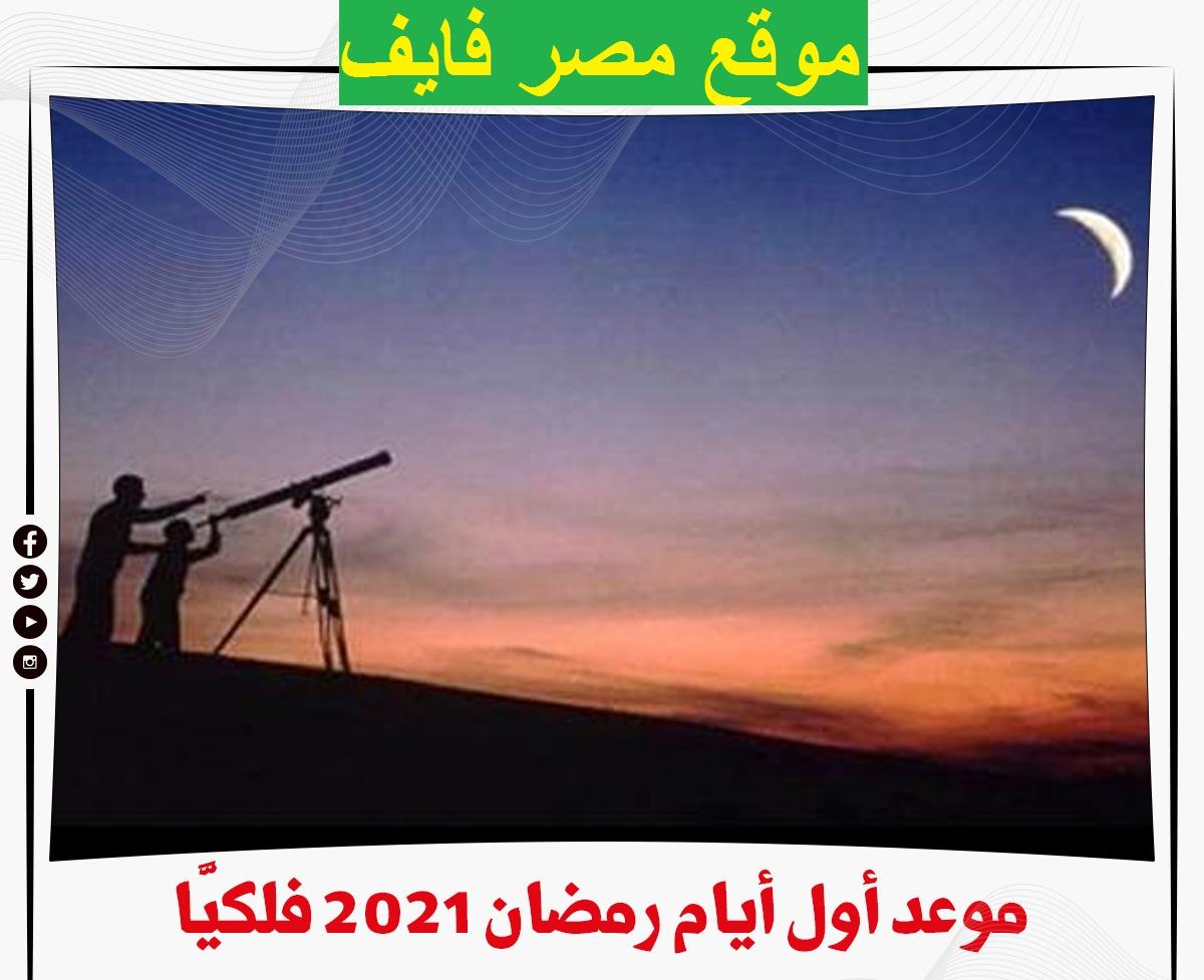 موعد شهر رمضان 2021 وعيد الفطر بمصر والسعودية فلكيًا