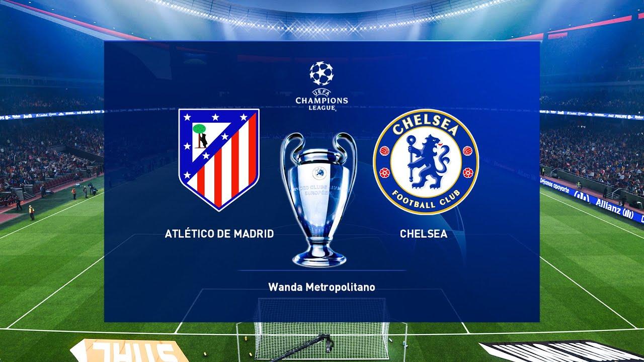 معلق مباراة تشيلسي وأتليتكو مدريد والتشكيلة المتوقعة والقنوات المفتوحة الناقلة
