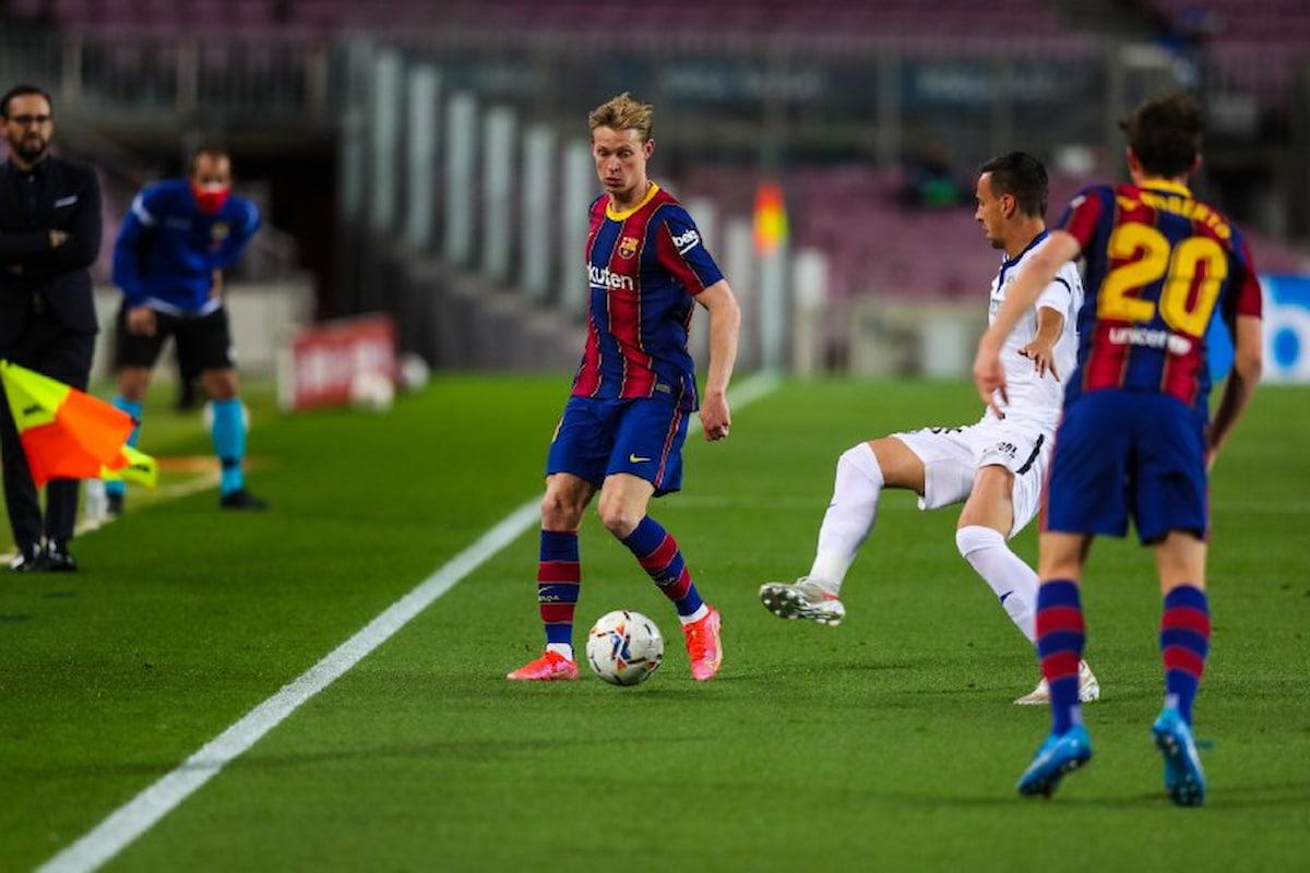 برشلونة يهزم خيتافي وينتقل إلى المركز الثالث في الدوري الاسباني