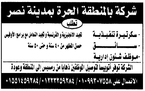 فرص عمل في مصر 2021 5