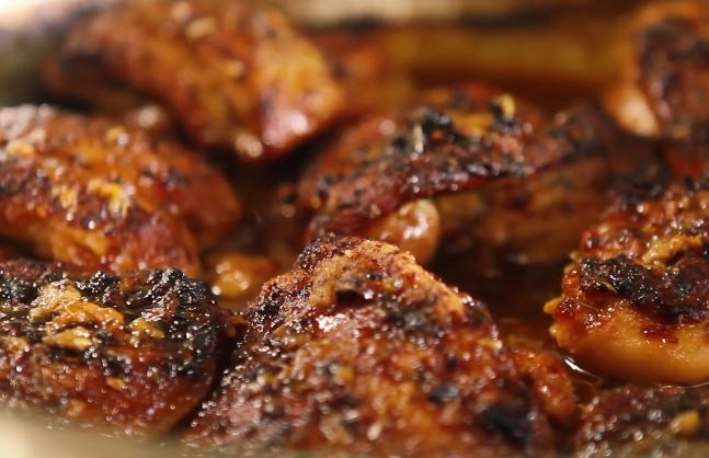 وصفة الدجاج على الطريقة الصينية بالعسل و صوص الصويا 3
