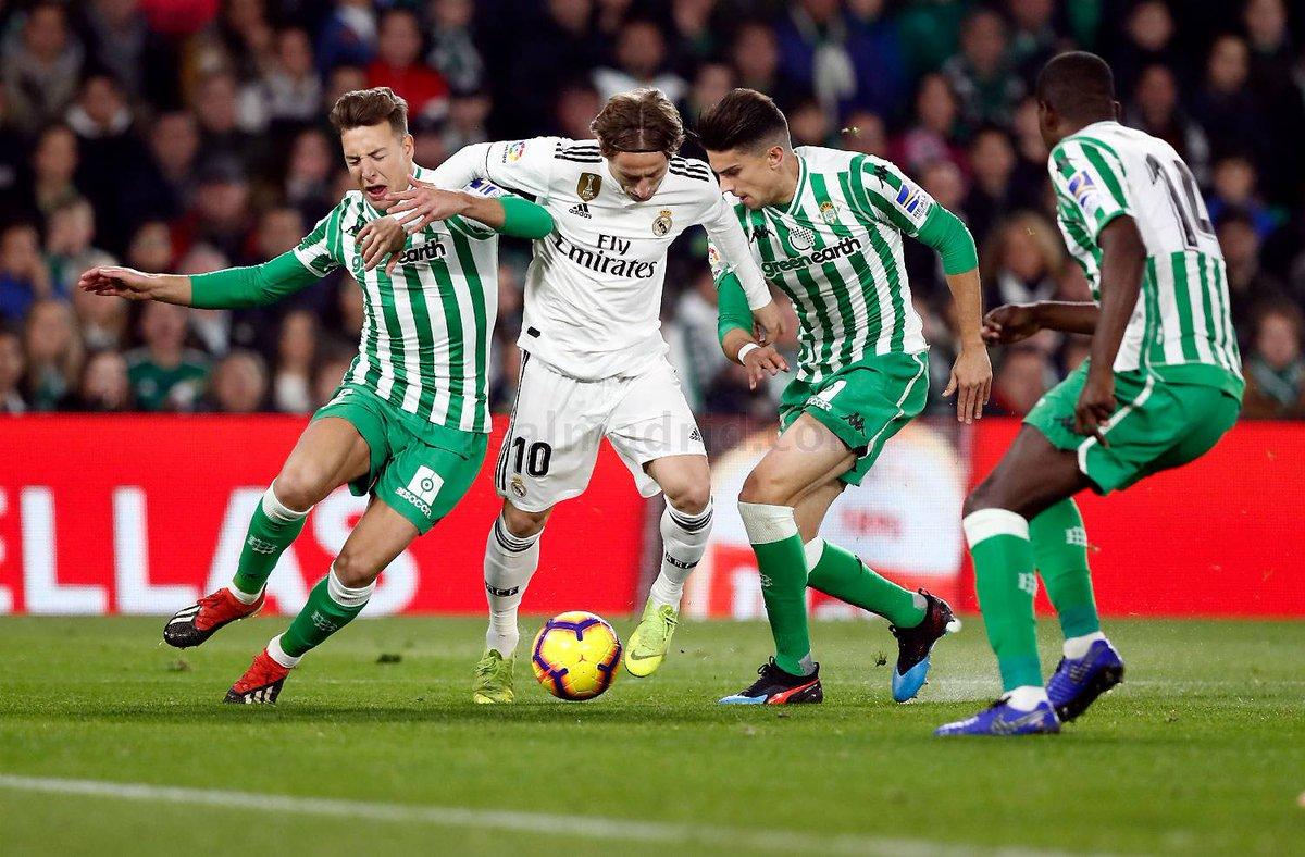 معلق مباراة ريال مدريد وريال بيتيس في الدوري الاسباني والقنوات الناقلة