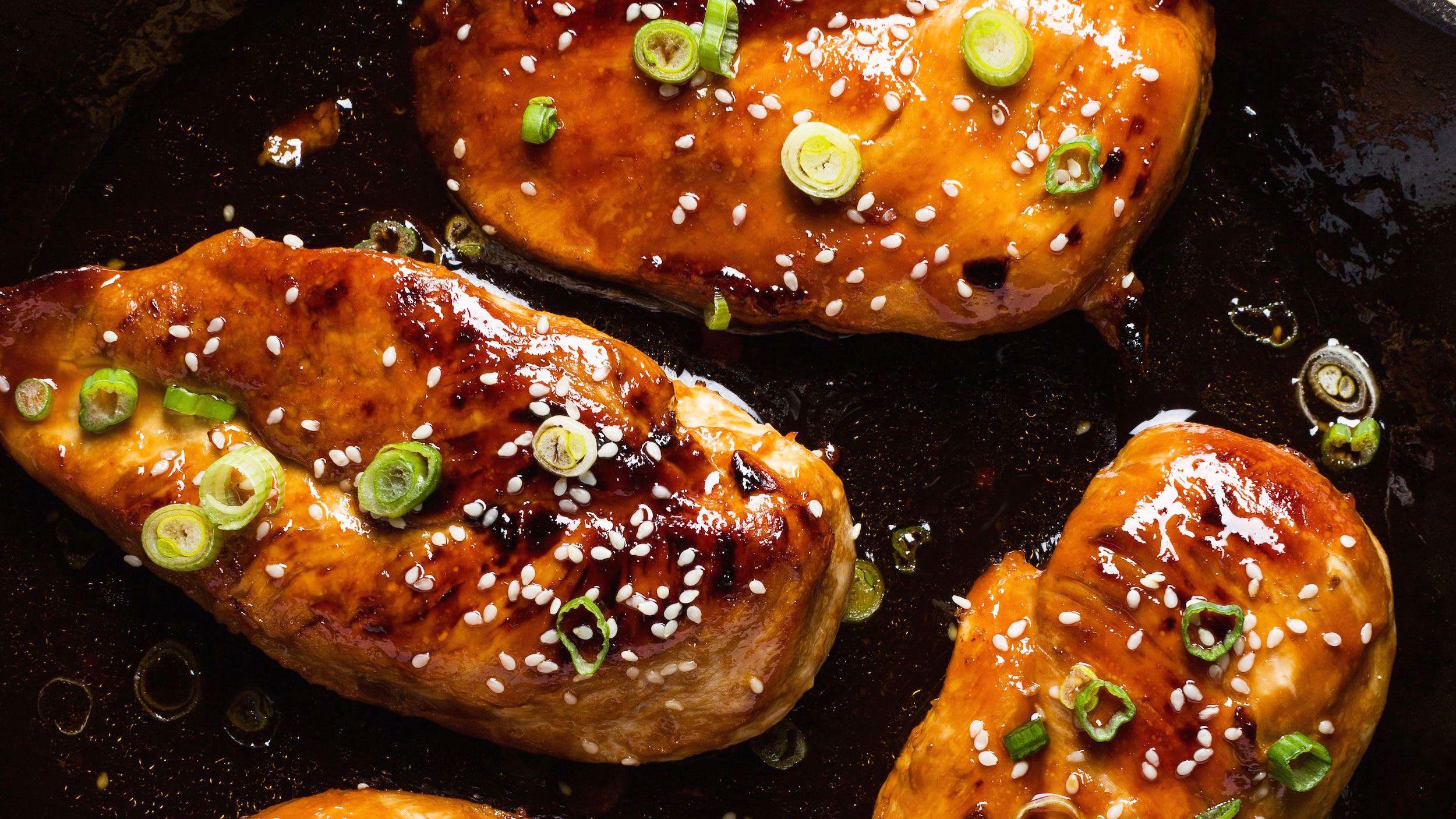 وصفة الدجاج على الطريقة الصينية بالعسل و صوص الصويا