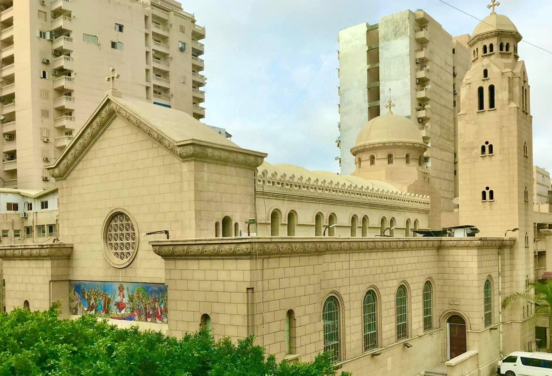 حريق كنيسة مارمينا بالعمرانية تفاصيل قامت الكنيسة القبطيّة بالإفصاح عنها