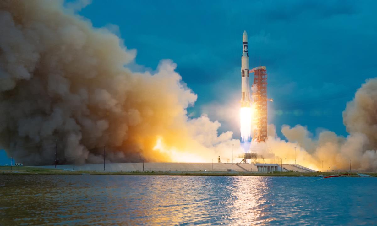 شركة أمريكية تعلن فقدان السيطرة على صاروخها في الفضاء