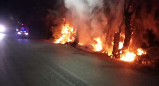 حريق مصنع موبيليا بدمياط