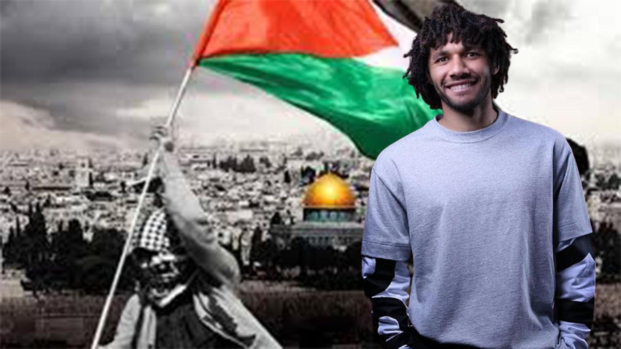 محمد الننى يغرد تعاطفًا مع فلسطين.. وعضو منظمة يهودية بريطانية يشتكى وآرسنال يرد