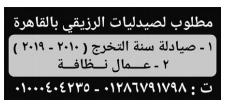 اعلانات وظائف الوسيط pdf الجمعة 18/6/2021 2