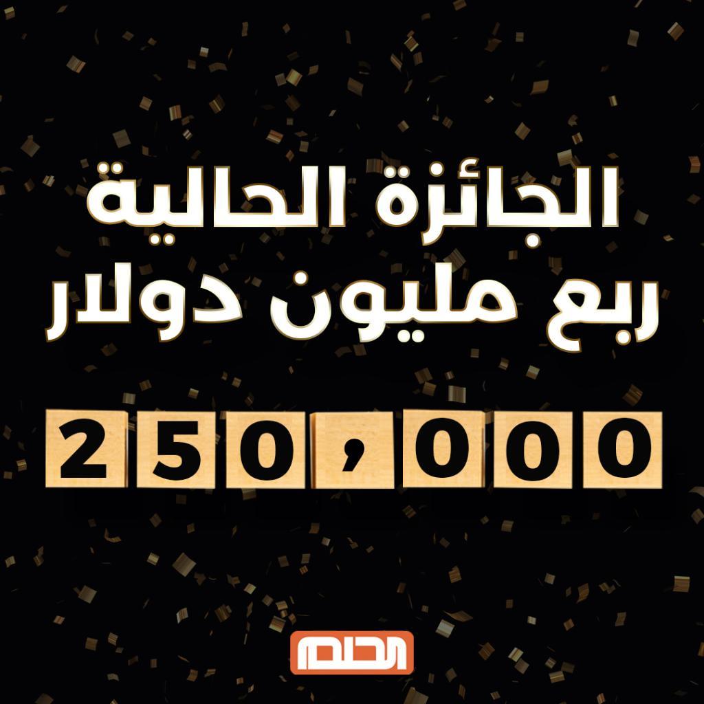 مبروك للفائز.. اربح آلاف الدولارات الآن مع مسابقة الحلم 2021 برسالة SMS قد تصبح مليونيراً 5
