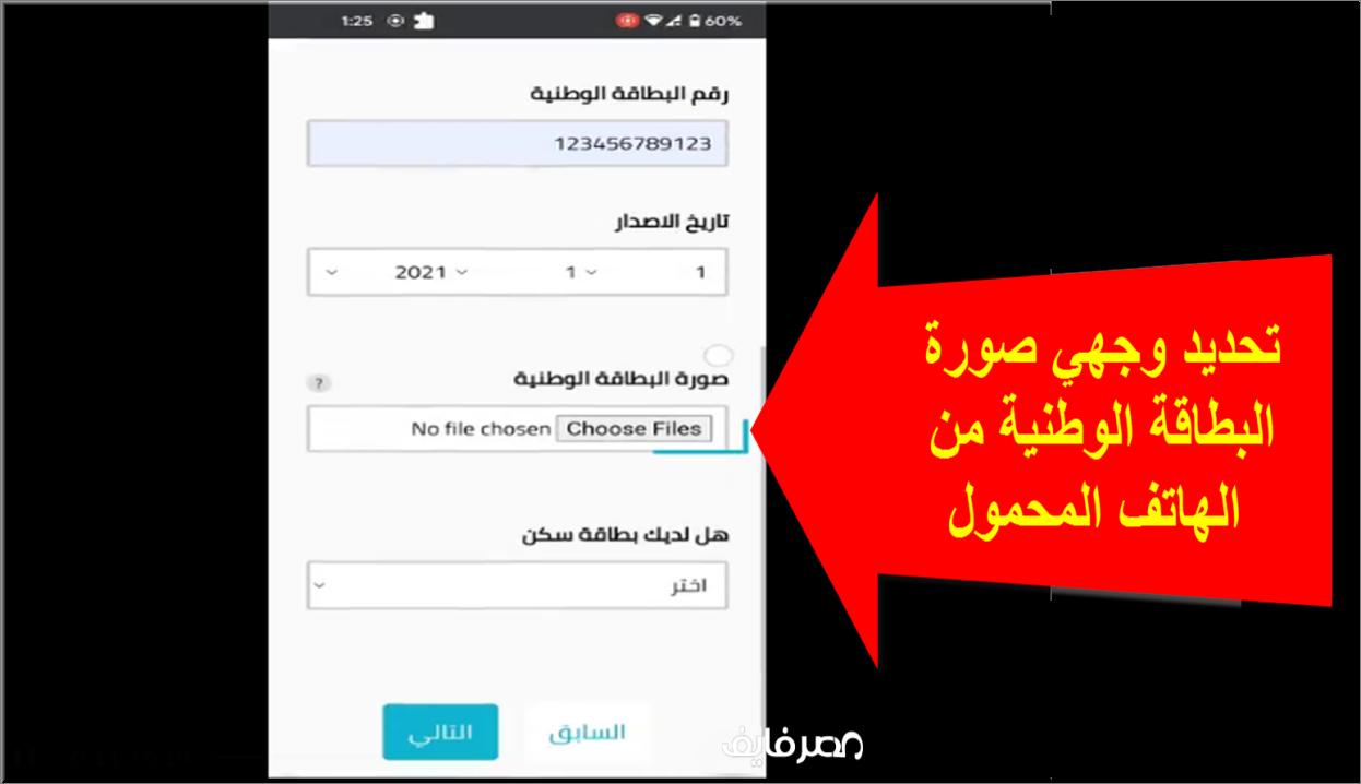 الاستمارة الالكترونية لتوزيع الاراضي للمواطنين