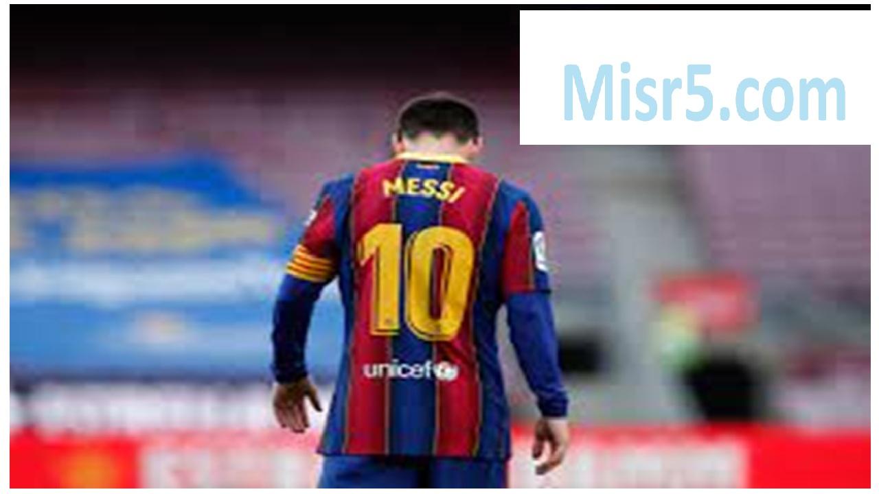 تجديد ميسي لبرشلونة