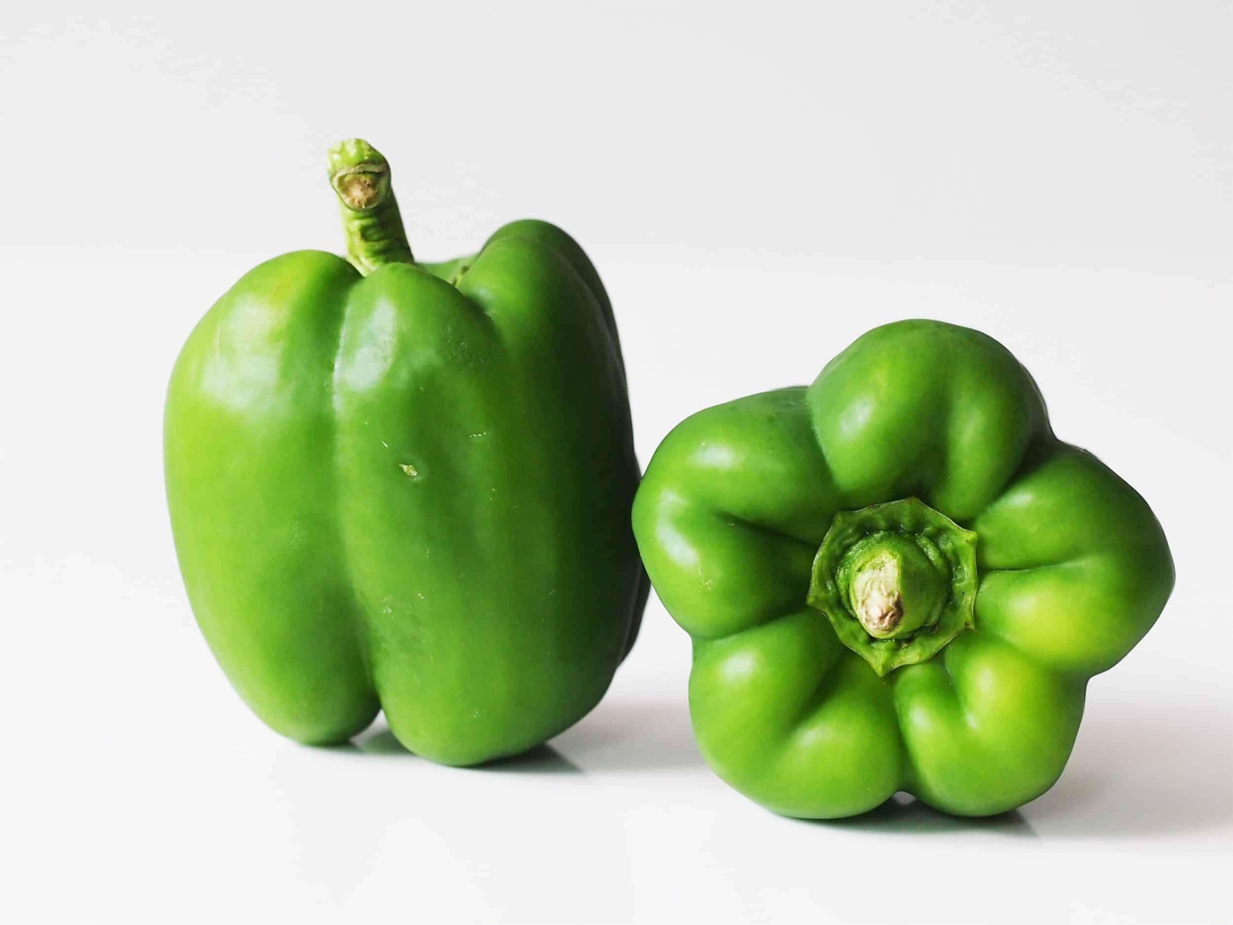 الفلفل الأخضر