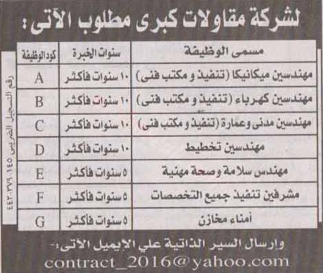 وظائف الأهرام الجمعة 23/7/2021.. جريدة الاهرام المصرية وظائف خالية 1