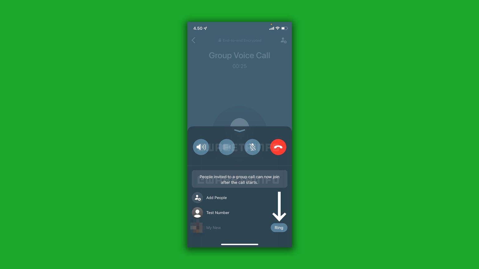 واتساب يعلن إضافة ميزة جديدة خاصة بالمكالمات الفردية والجماعية لنظام iOS وAndroid 3