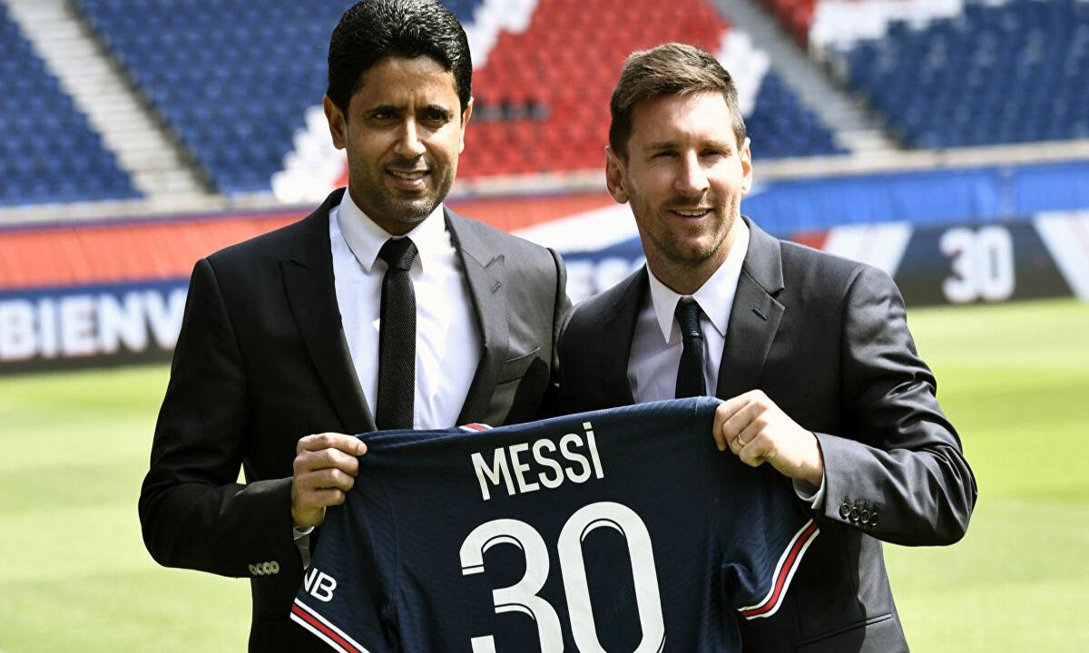 باريس سان جيرمان يحصد 156 مليون دولار مبيعات لقميص ميسي في وقت قياسي