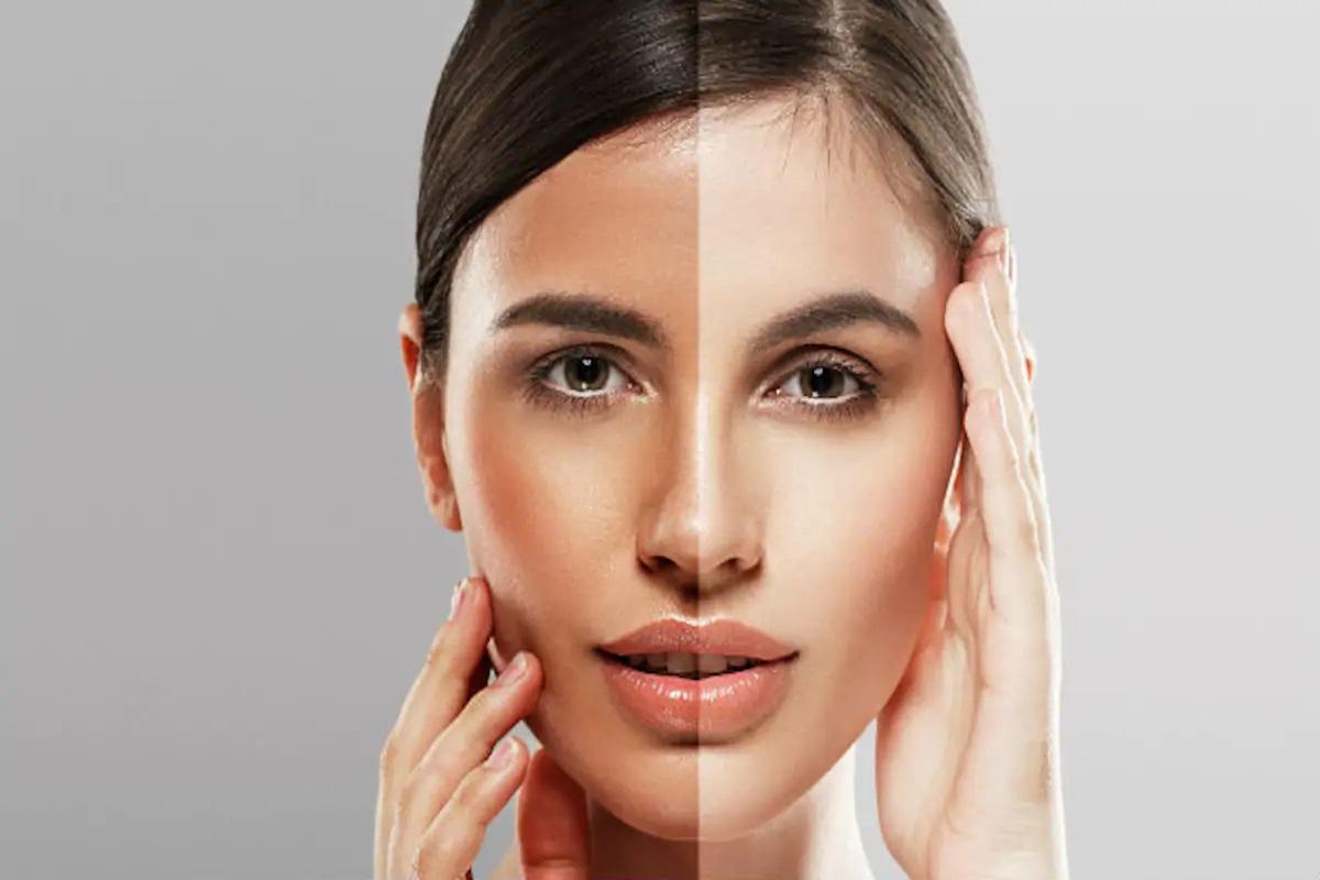 وصفات لتبييض الوجه للبشرة الحساسة في المنزل آمنه ولطيفة