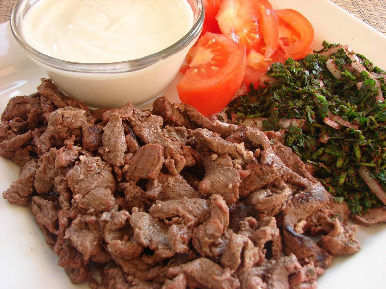 طريقة شاورما اللحم السورية بطريقة المطاعم