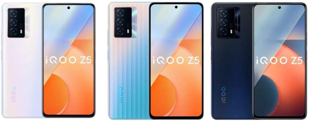 رسميًا إطلاق هاتف iQOO Z5 5G مع شاشة 120 هرتز وبطارية 5000 مللي أمبير وسعر اقتصادي