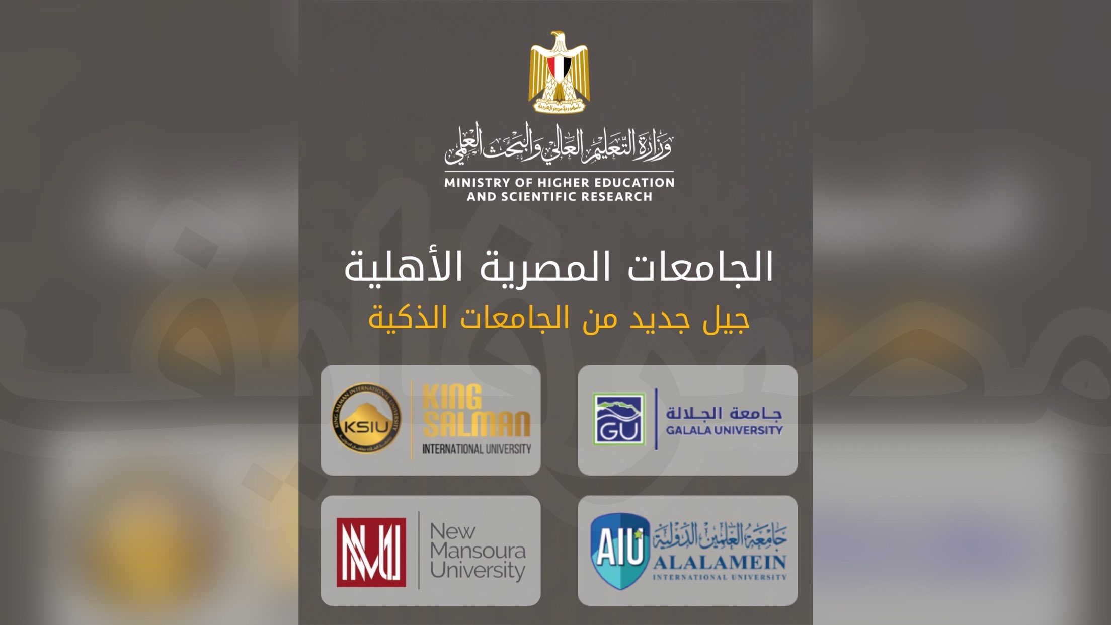 تنسيق الجامعات الاهلية 2021 في مصر كلية الطب 85% والهندسة 70%