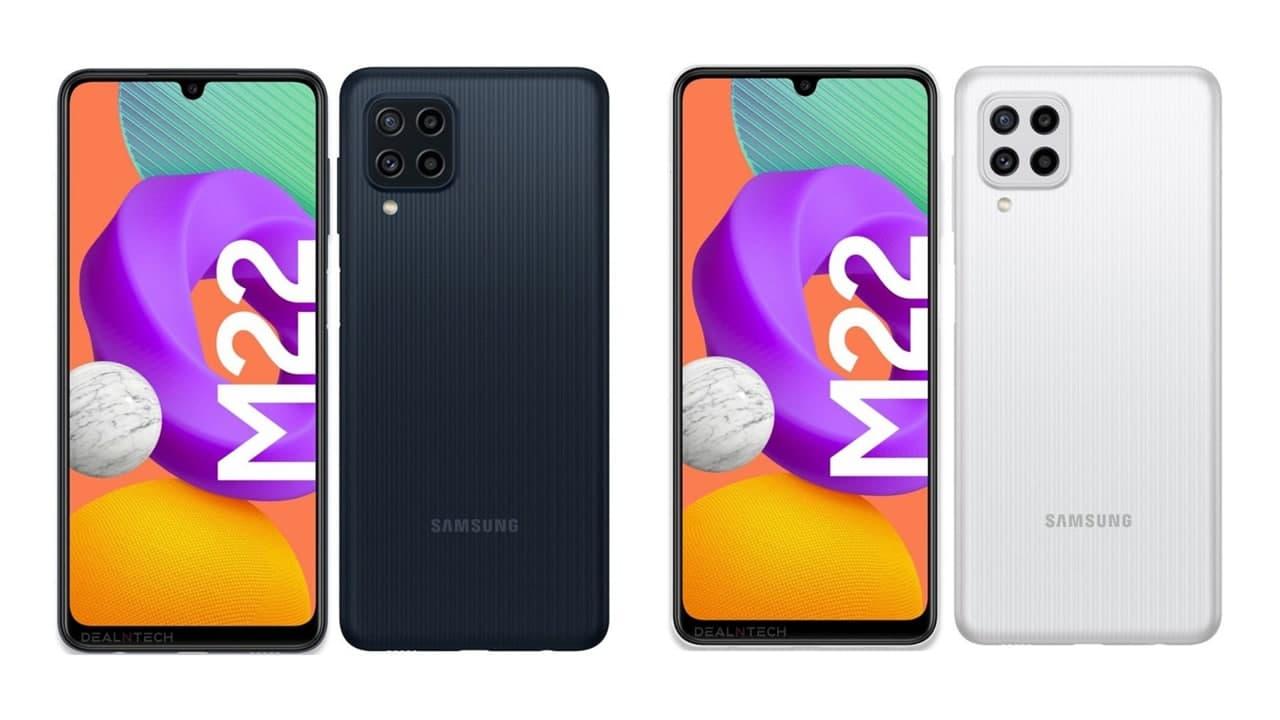 جديد هواتف سامسونج الرائعة للفئة المتوسطة Samsung M22 جميع المواصفات وأهم المميزات والعيوب 2021