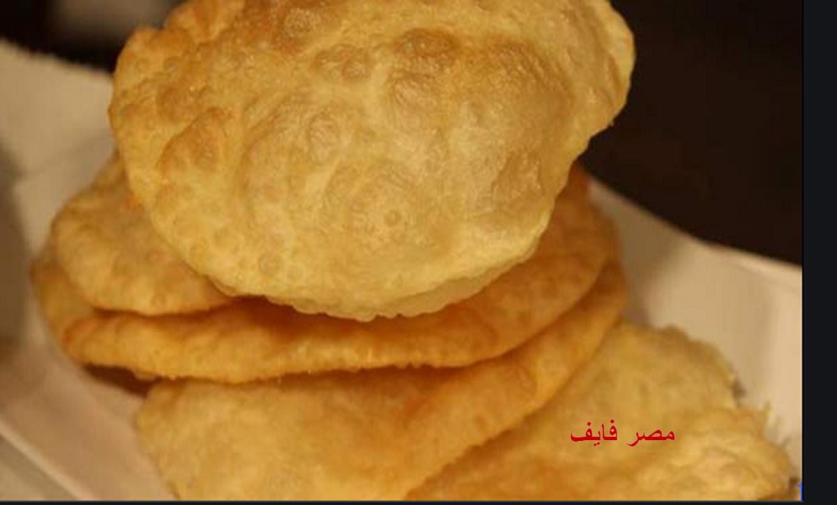 طريقة عمل الخبز البوري الهندي بدون خميرة في 10 دقائق