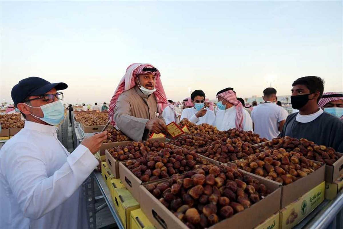 فعاليات مهرجان التمور بالأحساء 2021 في يوم الزراعة العربي