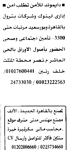 وظائف الأهرام الجمعة 22/10/2021.. جريدة الاهرام المصرية وظائف خالية 1