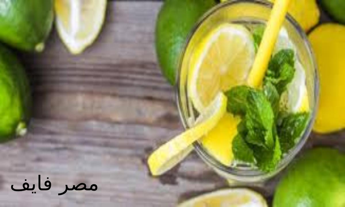 طريقة عمل عصير الليمون بالنعناع