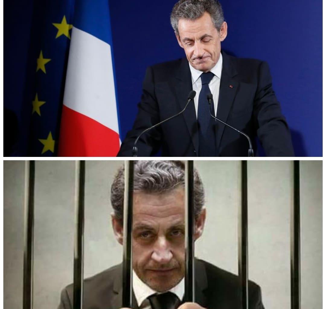 إدانة ساركوزي بالسجن النافذ لسنة كاملة