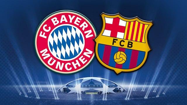 مباراة برشلونة وبايرن ميونخ 1-5-2013 اليوم