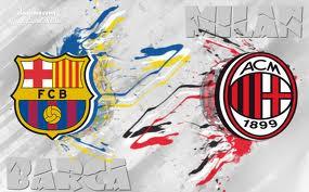 موعد مباراة برشلونة وميلان والقنوات الناقلة لها 2013
