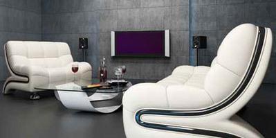 تصميمات غرف التلفزيون