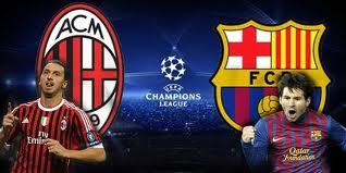 موعد مباراة برشلونة وميلان اياب والقنوات الناقلة لها 12/3/2013