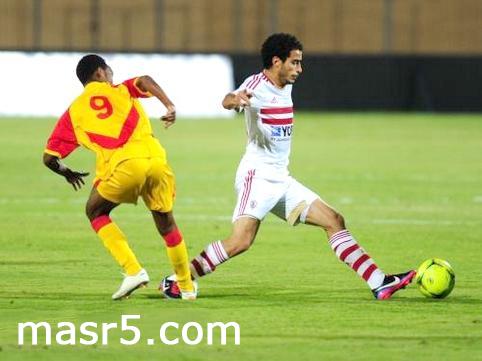 مباراة الزمالك وسان جورج الاثيوبي 5-5-2013